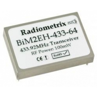 433MHz Wide Band FM radio transceiver
