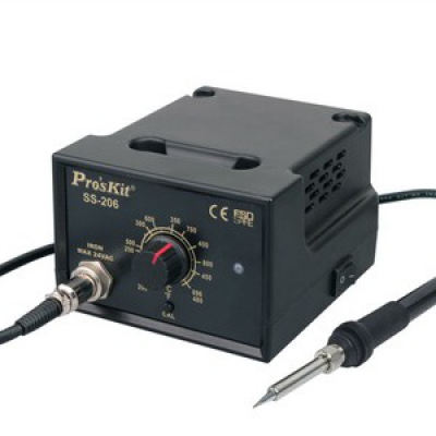 Pro'skit-SS-206B  Temperature-Controlled Soldering Station For Analog Display