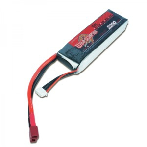 LiPo Rechargeable Battery 11.1V 2200mAH