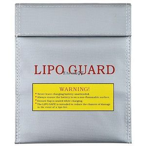 Fireproof RC Lipo Li-Po Battery Safety Guard Charging Bag 23x18cm