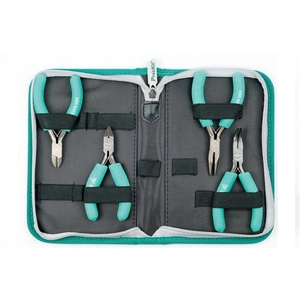 Pro's Kit 4Pc Ergonomic ESD Safe Plier And Cutter Kit - PK-ST902