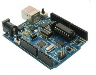 motoDuino with L293D and USB cable