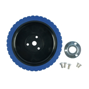 5 Inches Robot Wheel With 15mm Key Hub