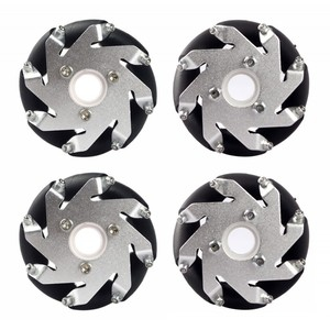 60MM ALUMINUM MECANUM WHEELS SET